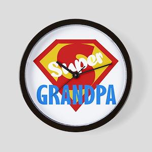 Super Grandpa Wall Clock