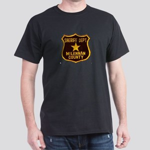 McLennan County Sheriff Dark T-Shirt