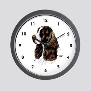 English Springer Spaniel Wall Clock