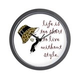 Animal print Basic Clocks