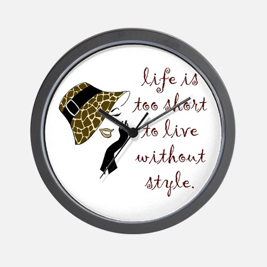 Cute Animal print Wall Clock