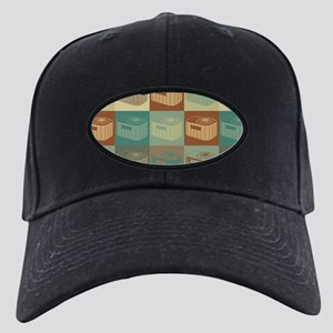 HVAC Pop Art Black Cap