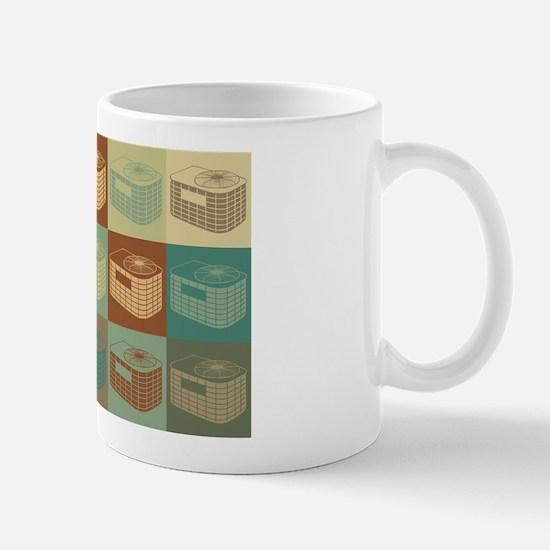 HVAC Pop Art Mug