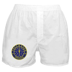 Indiana Masons Boxer Shorts