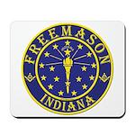 Indiana Masons Mousepad
