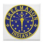 Indiana Masons Tile Coaster