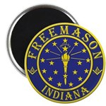Indiana Masons Magnet