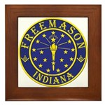 Indiana Masons Framed Tile