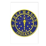Indiana Masons Postcards (Package of 8)