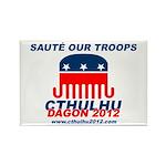 Sauté Our Troops Rectangle Magnet
