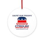 Sauté Our Troops Ornament (Round)