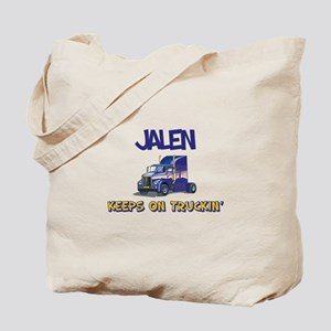 Jalen Keeps on Truckin Tote Bag