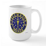 Indiana Masons Large Mug