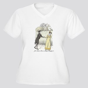 pride & Prejudice Ch 22 Women's Plus Size V-Neck T