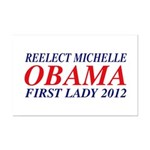 Reelect Michelle First Lady Mini Poster Print