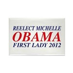 Reelect Michelle First Lady Rectangle Magnet