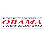 Reelect Michelle First Lady Bumper Sticker
