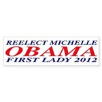 Reelect Michelle First Lady Bumper Sticker (10 pk)