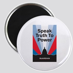 Guardian Speak Truth to Power Magnet