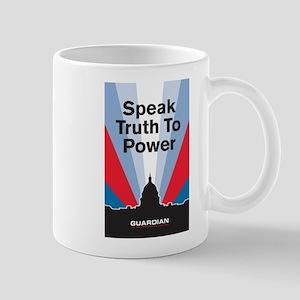 Guardian Speak Truth to Power Mug