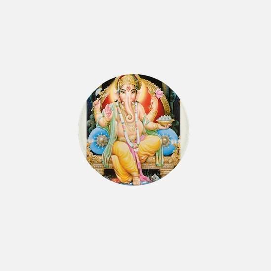 Cute Ganesh Mini Button