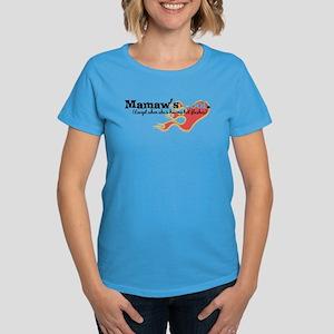 Mamaw's Hot Flashes Women's Dark T-Shirt