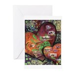 The Best Teachers... Greeting Cards (Pk of 10)
