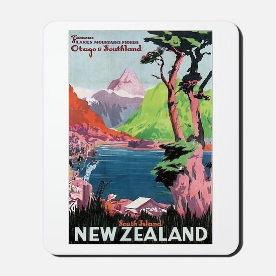 Otago New Zealand Mousepad