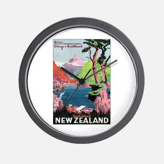 Otago New Zealand Wall Clock
