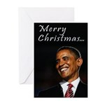 Obama Christmas Greeting Cards (Pk of 20)