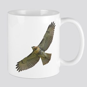 Soaring Red-tail Hawk Mug