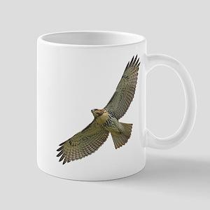 Soaring Red-tail Hawk Mug