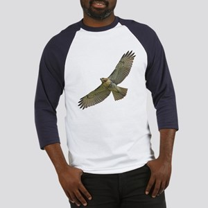 Soaring Red-tail Hawk Baseball Jersey