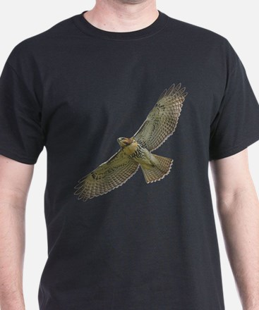 Soaring Red-tail Hawk T-Shirt