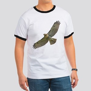 Soaring Red-tail Hawk Ringer T