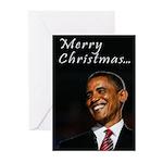 Obama Christmas Greeting Cards (Pk of 10)