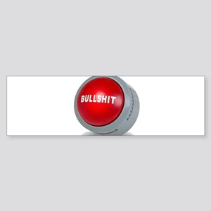 bullshitbutton Bumper Sticker