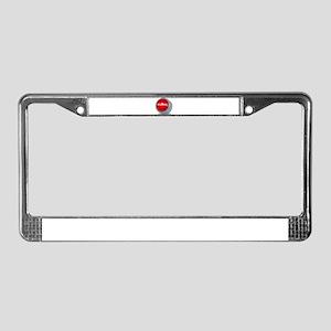 bullshitbutton License Plate Frame