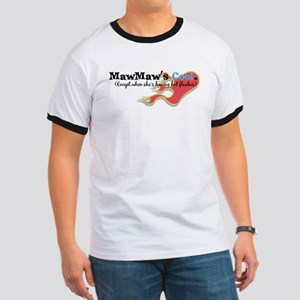MawMaw's Hot Flashes Ringer T