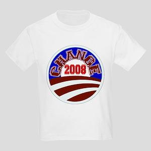 Barack Obama -- Change 2008 Kids Light T-Shirt