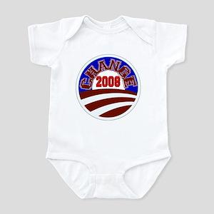 Barack Obama -- Change 2008 Infant Bodysuit