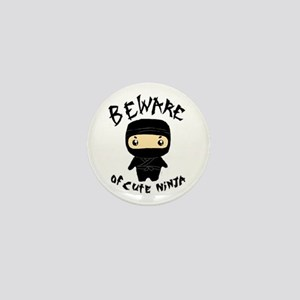 Cute Ninja Mini Button