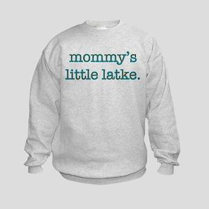 Mommy's Little Latke Kids Sweatshirt