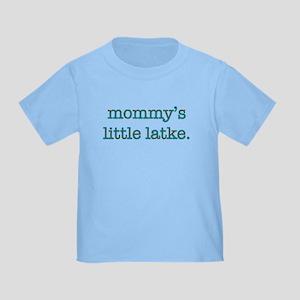 Mommy's Little Latke Toddler T-Shirt