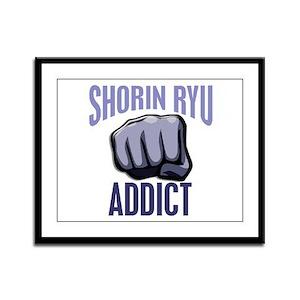 Shorin Ryu Addict Framed Panel Print
