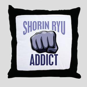 Shorin Ryu Addict Throw Pillow