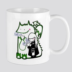 Cocoa with Green Dragon Mug