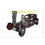 Rat Rods Rule! Postcards (Package of 8)