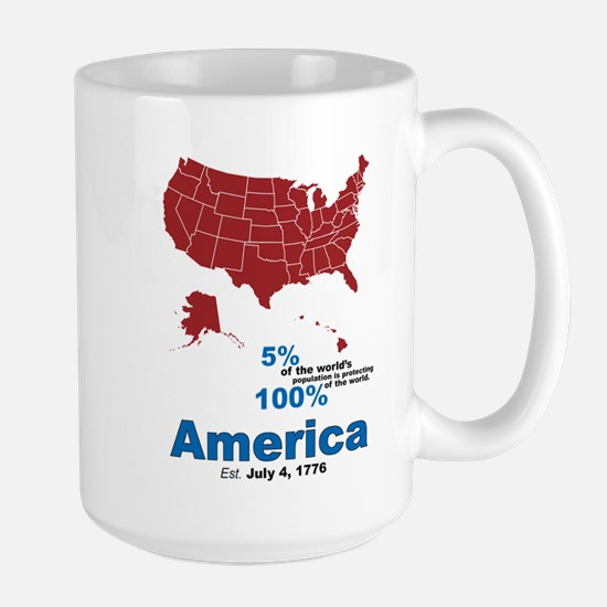 Our World Large Mug