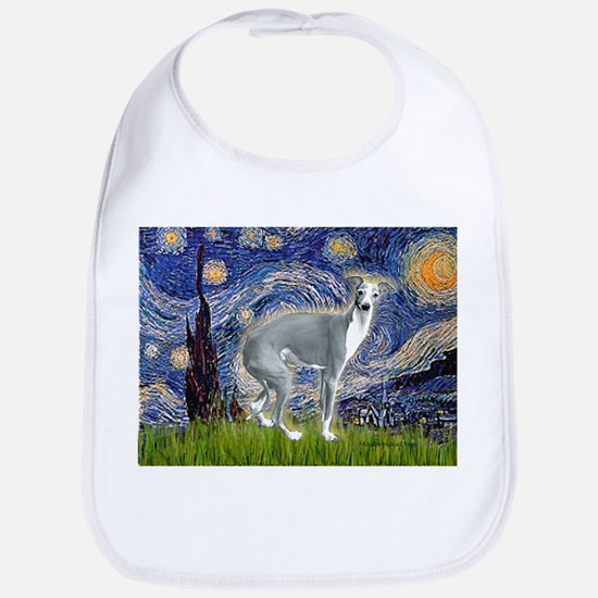 Starry Night/Italian Greyhoun Bib
